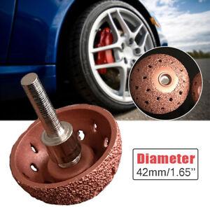 42mm Car Tire Repair Grinding Head Rotary Tools Coarse Buffing Wheel Tungsten