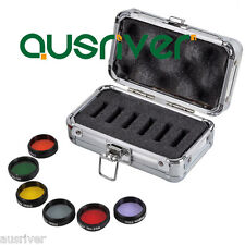 "HOT 1.25"" Eyepiece Colored Filter Set & Moon Filters Accessories for Telescope"