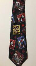 Warner Bro Looney Tunes Taz Bugs Bunny Sylvester Tweety Stamps Neck Tie #DJ3