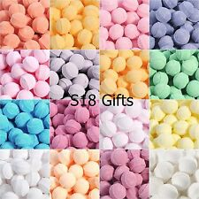 20 Assorted Mixed Scented Mini Bath Bombs Marbles Fizzers Free Gift Bag & Ribbon