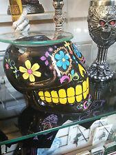 Day of the Dead Sugar Skull Votive Holder