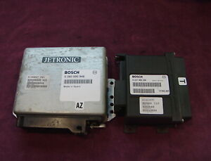 Volvo 240 EGR Engine & Ignition Control Modules (1992) 9146847-Fuel//6842495-Ign