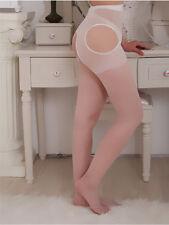 Mesh Lace Lingerie Garter Belt Fishnet Thigh High Tights Body Stockings Tube 2d