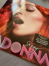 Madonna sorry Uk 12 Unplayed Rare Deleted
