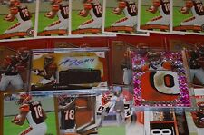 A.J. GREEN ROOKIE, AUTO & GAME USED CARD COLLECTION!!! MUST SEE!!!