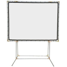 Carl's FlexiWhite, 4:3, 9x12 FreeStanding Projector Screen Kit, White