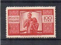 Italy 1945-48 100l MH
