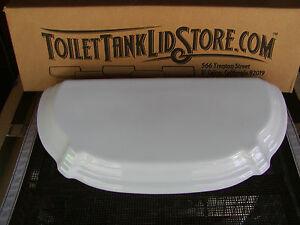 Kohler Portrait K 4565 White Toilet Tank Lid 80625 fits K4565 and 4607 toilet