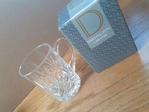 Large Heavy 1 Pint Dartington Crystal Glass Tankard- Boxed