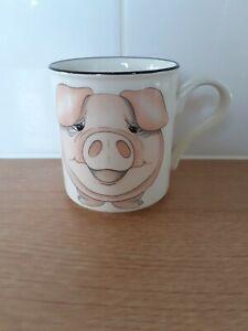 Arthur Wood Back to Front Pig Mug