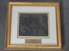 PICASSO HAND SIGNED LINOGRAVURE BACCHANALE AU HIBOU (35), 1962 BY WILHELM BOECK
