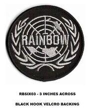 RAINBOW SIX - 3 INCH VEL-KRO PATCH - RBSIX03