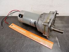 General Electric 5BPA34KAB10C Electric Gear Motor 24 Dc 68 Rpm 25 In/lb Mina