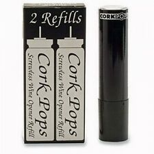 Cork Pops Refill Cartridges 10 Pack CO2 Legacy Wine Opener Replacement 5 Box Set
