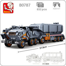 Sluban B0787 Model Bricks Space Transport Vehicle Car Model Building Blocks Toy