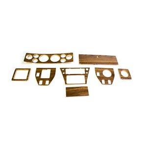 Fits Triumph Stag Premium Quality dashboard,  LHD complete wood set, P.S. Walnut