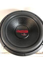 """Kove ARMAGEDDON 15"""" Single 4 OHM SUBWOOFER New #105"""