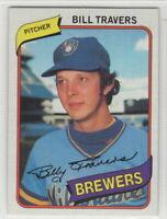 1980 Topps Baseball Milwaukee Brewers Team Set
