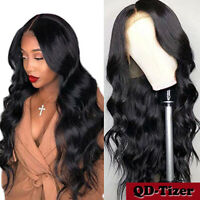 Body Wave Brazilian Virgin Human Hair Lace Front Wig Full Lace Baby Hair Natural