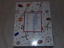 Soccer NY/NJ Metrostars Red 4 Piece Infant Baby Gift Set Sz 0-6M MLS NIP