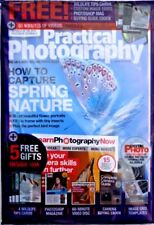 PRACTICAL PHOTOGRAPHY MAGAZINE SPRING 2018 WITH FREE GIFTS ~ NEW ~