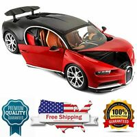 diecast model car Bugatti Chiron Red 1:18 Scale Car Special Edition