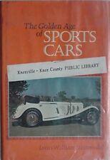 SPORTS CARS GOLDEN AGE, 1972 BOOK (SSK MERCEDES-BENZ CVR