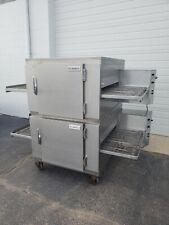 Lincoln Impinger 1450 Double Deck Conveyor Pizza Oven Belt Width 32