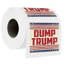 Dump Trump Design Novelty Toilet Paper Roll Tissue Prank Joke Gag Gift