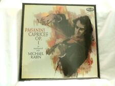 PAGANINI Caprices Op. 1 for Violin MICHAEL RABIN 180 gram SEALED 2 LP box set