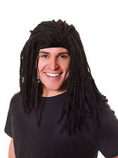 Long Rasta Fancy Dress Costume Wig Adult Party Novelty Dreadlock Hair