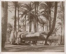 Albumen Print Ramses II Memphis Egypt Ruins c1875 Zangaki Photograph