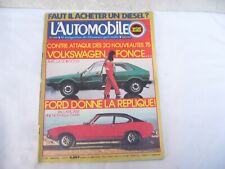 MAGAZINE L'AUTOMOBILE SPORT MECANIQUE n° 334 -  MARS 1974