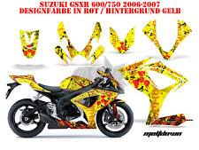AMR RACING DEKOR GRAPHIC KIT SUZUKI GSX-R 600/750/1000/1300 MELTDOWN B