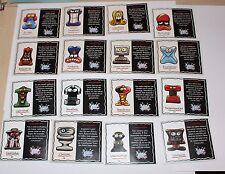 """Crazy Bones Geloucos Coca Cola Original Gogos 16 Cards """"Rare"""""""