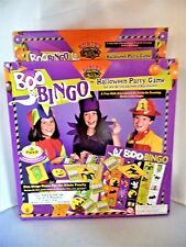 """Boo Bingo""!  Halloween Party Game, 100% Complete"