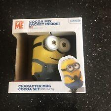 Despicable Me Character Mug Cocoa Set NIB