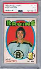 1971-72 O-PEE-CHEE MIKE WALTON PSA 5 BOSTON BRUINS #171
