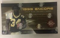 1999 Upper Deck Encore Football Hobby Box Factory Sealed 24 Pack