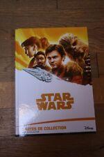 """ALBUM DISNEY COLLECTOR """"STAR WARS"""": CARTES DE COLLECTION: COMPLET !!"""