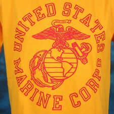 NOS vintage USMC UNITED STATES MARINE CORPS T-Shirt LARGE military army thin 90s