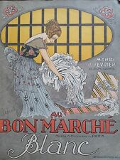 "JOLI CATALOGUE MODE "" AU BON MARCHE "" 1921 LE BLANC"
