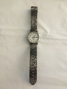 Silver Color Timex Easy Reader Indiglo Men's Watch - Works