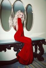Lurelly Monaco Gown Red Size US 6 / UK 10 BNWT RRP 405 USD