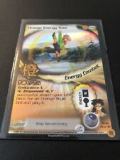 Dragon Ball Z GT CCG Orange Energy Toss M21!! Broly Second Coming Promo!!