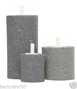 "Active Aqua Medium Cylinder Air Stone 2"" X 2"" Hydroponic Aeration Air Stone ASCM"