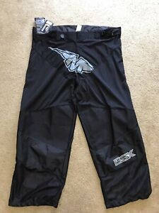 New Mission BSX Roller Adult Inline Hockey Pants Black sz XL