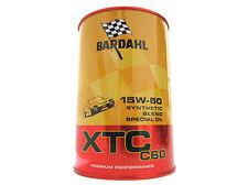BARDAHL XTC C60 SAE 15W50 Lubrificanti Auto Olio Motore Benzina Diesel 1 LT