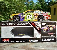 Kyle Busch M&M's Halloween Martinsville Raced Win 2017 NASCAR 1:24 DieCast