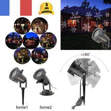 12 Modèles Laser LED Projecteur Etanche Lampes Lumières Paysage Noël Décoration